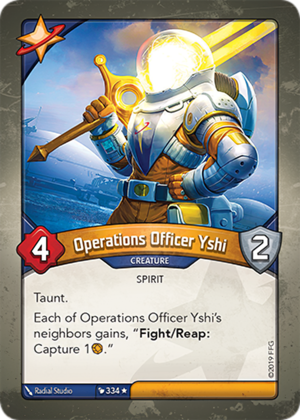 Operations Officer Yshi