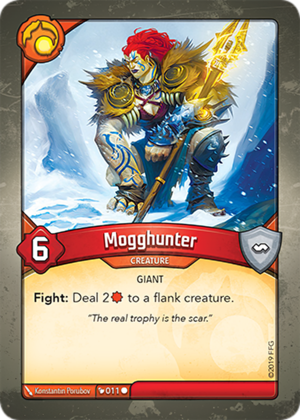 Mogghunter, a KeyForge card illustrated by Konstantin Porubov