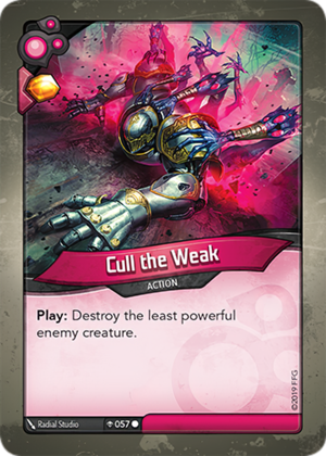Cull the Weak