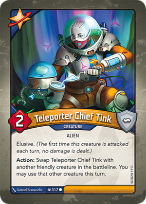 Teleporter Chief Tink