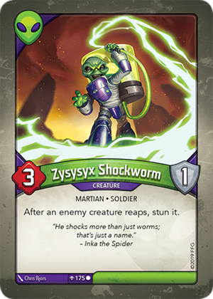 Zysysyx Shockworm